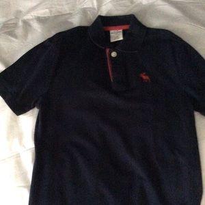 Boys short sleeve polo style shirt